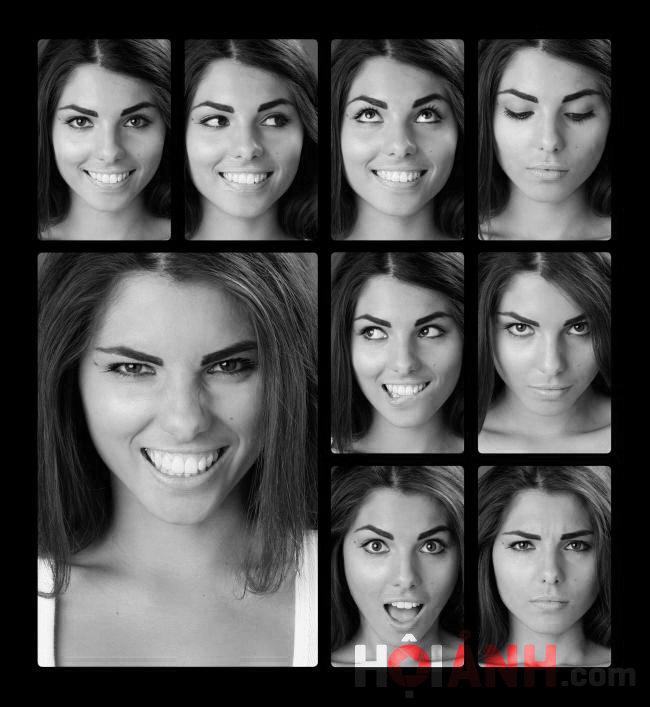 Khai mạc bằng 9 kiểu cho khuôn mặt