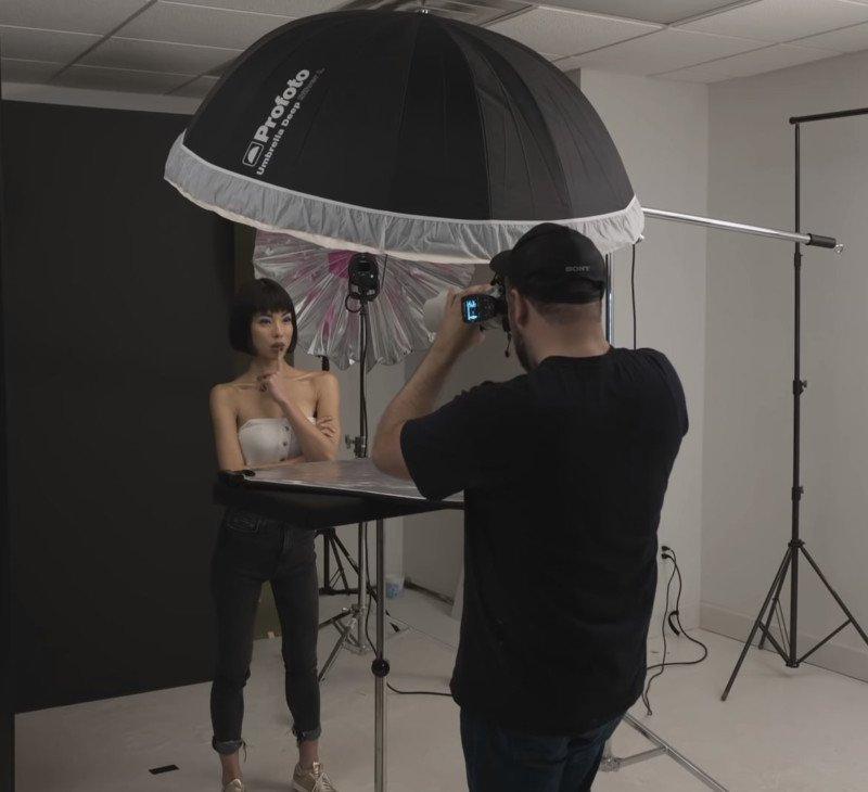 5 cách sử dụng ô (dù) để chụp chân dung tuyệt đẹp 4